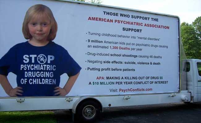 CCHR billboard