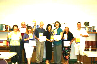graduates of continuing education class at Eastern Oklahoma State University