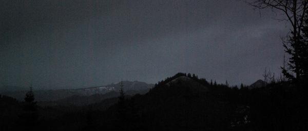 distant snow