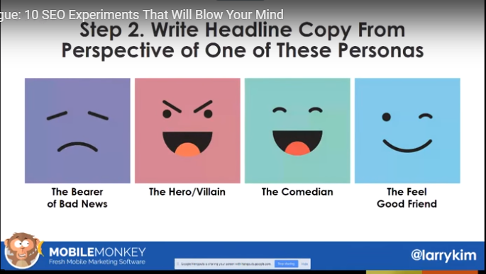 The 4 viewpoints from which to write headlines
