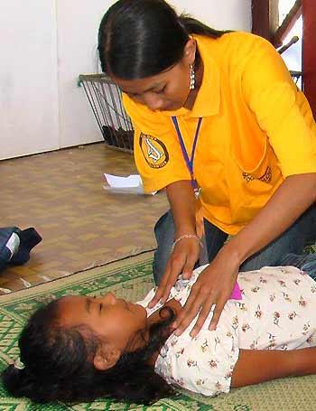 Volunteer minister in Yogyakarta, Indonesia