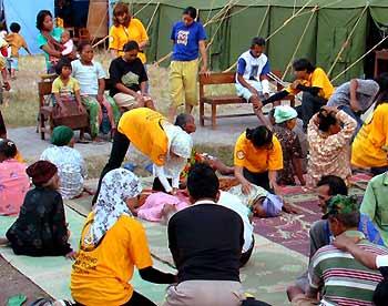 Volunteer ministers in Yogyakarta